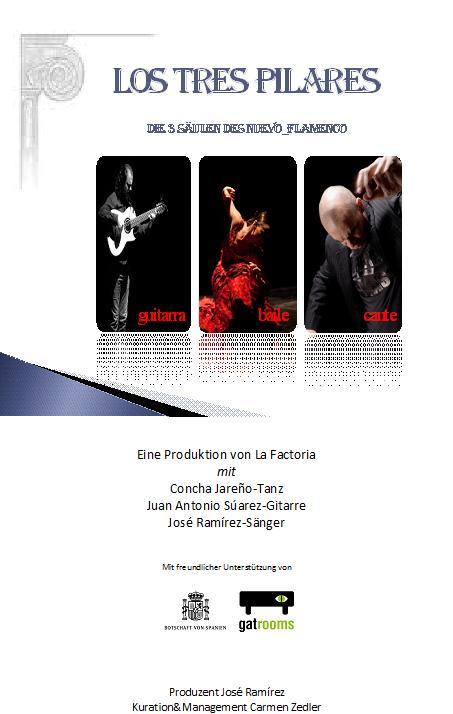 Los 3 Pilares (Die 3 Säulen des Flamenco)